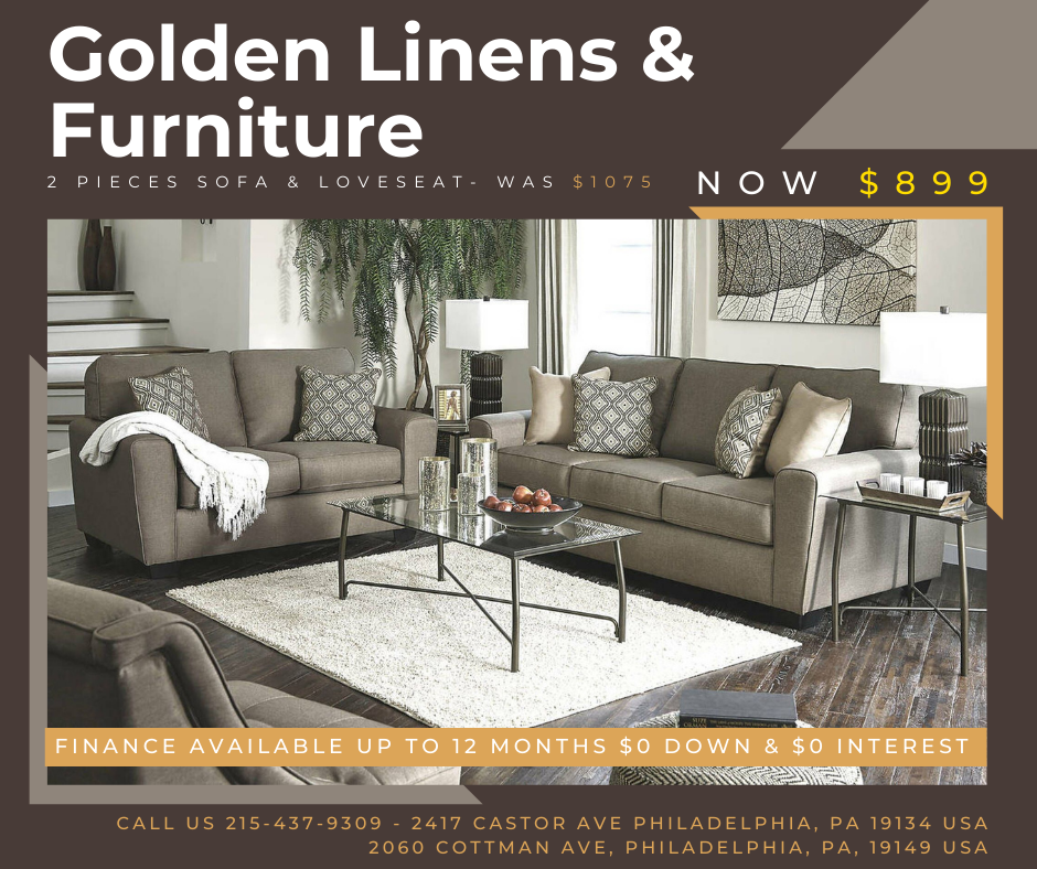 2 Pieces Sofa & Loveseat- was $1075 - now $899