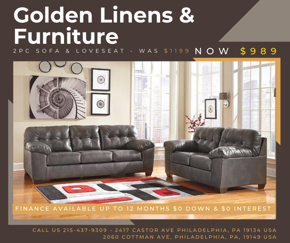 2 pieces sofa & loveseat - was $1199 - now $989