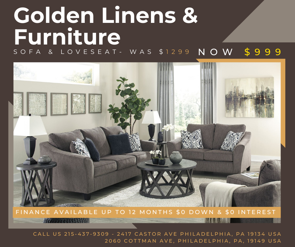 Sofa & Loveseat- was $1299 - now $999
