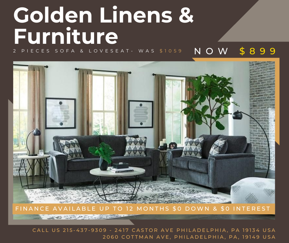 2 Pieces Sofa & Loveseat- was $1059 - now $899